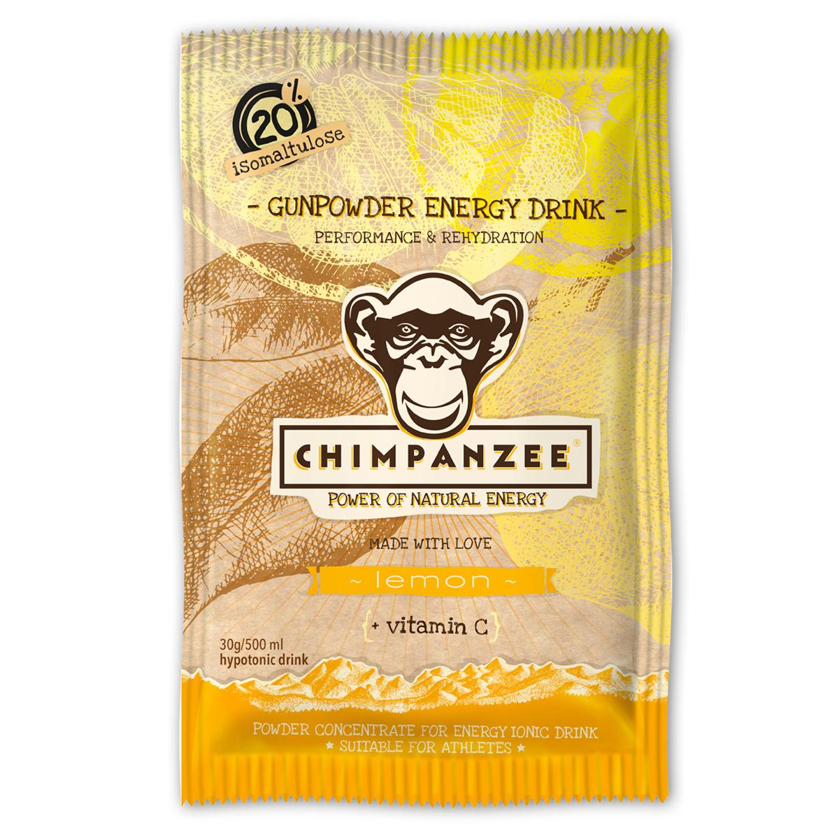 Chimpanzee Energy drink Gunpowder Lemon 30 g
