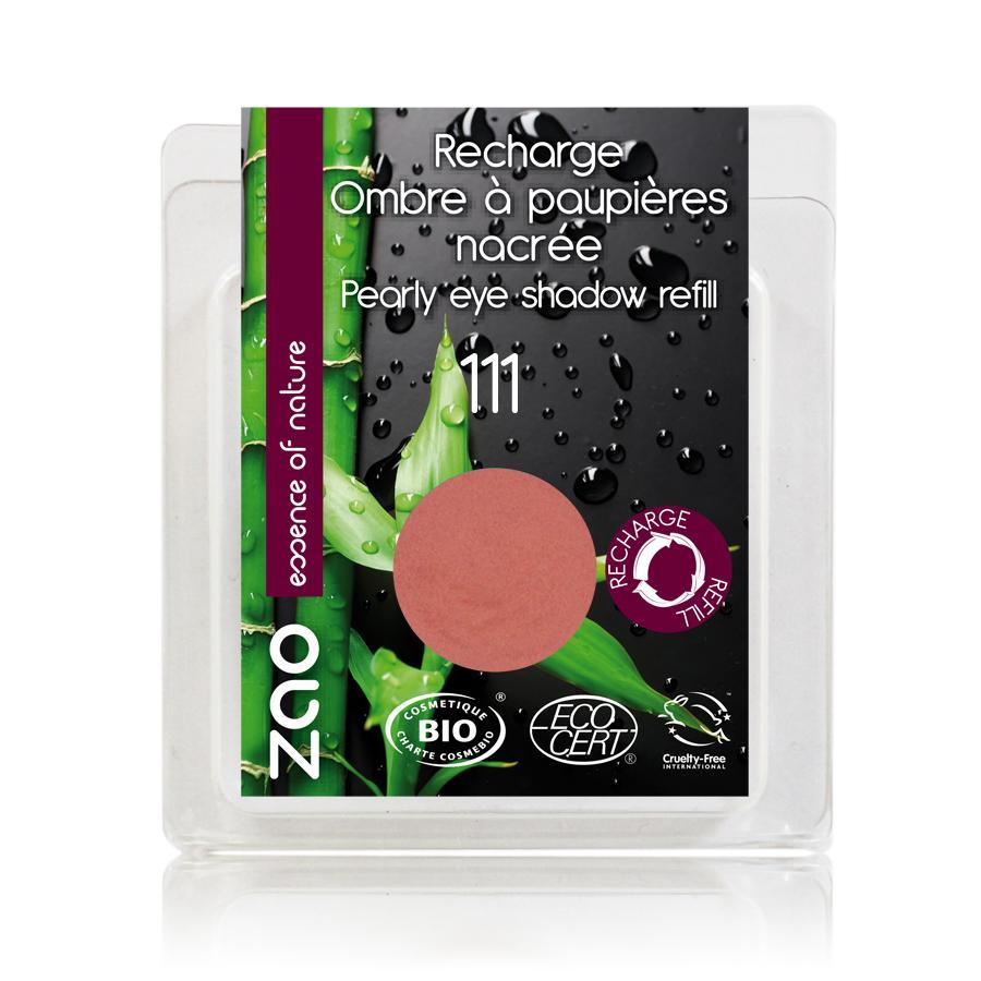 ZAO Třpytivé oční stíny 111 Peach Blossom 3 g náplň