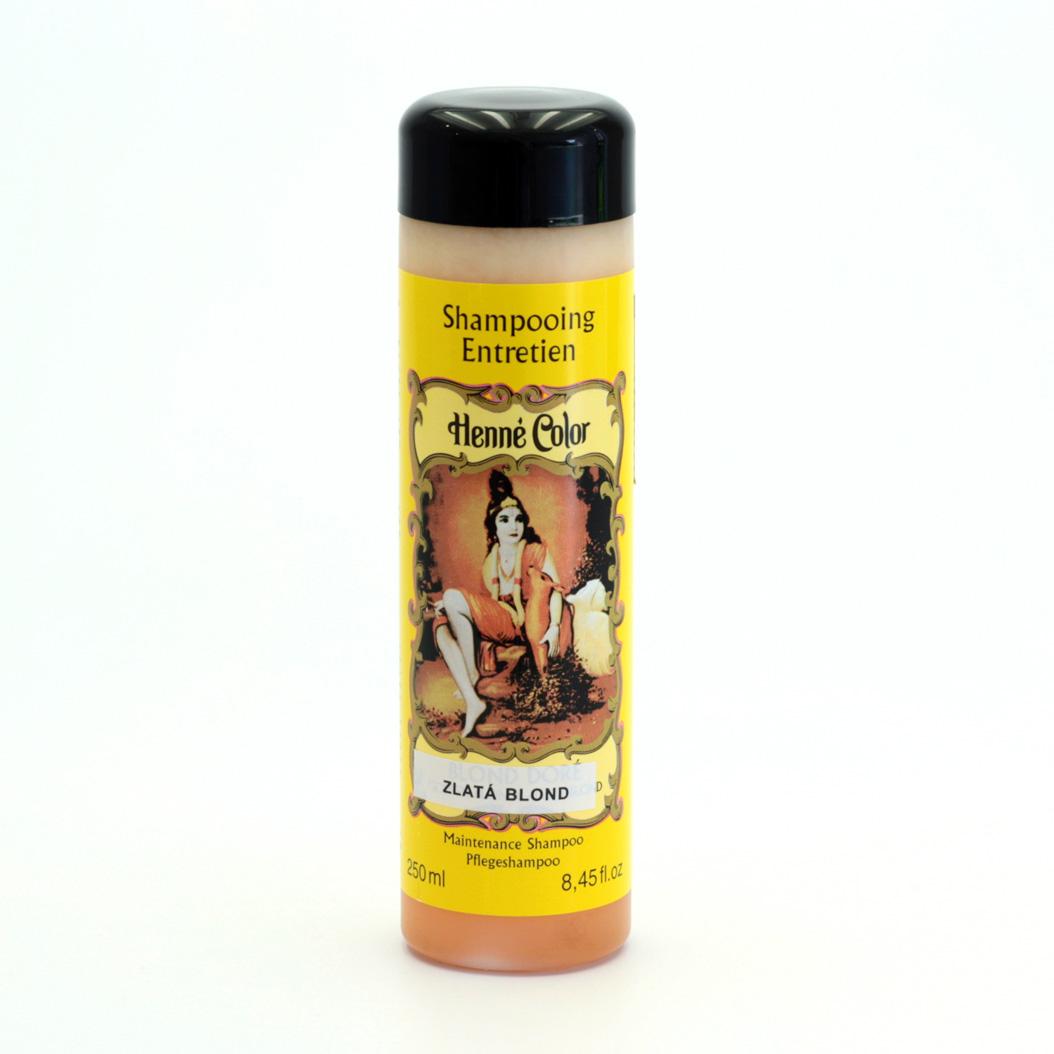 Henné Color Šampon henna Zlatá blond 250 ml