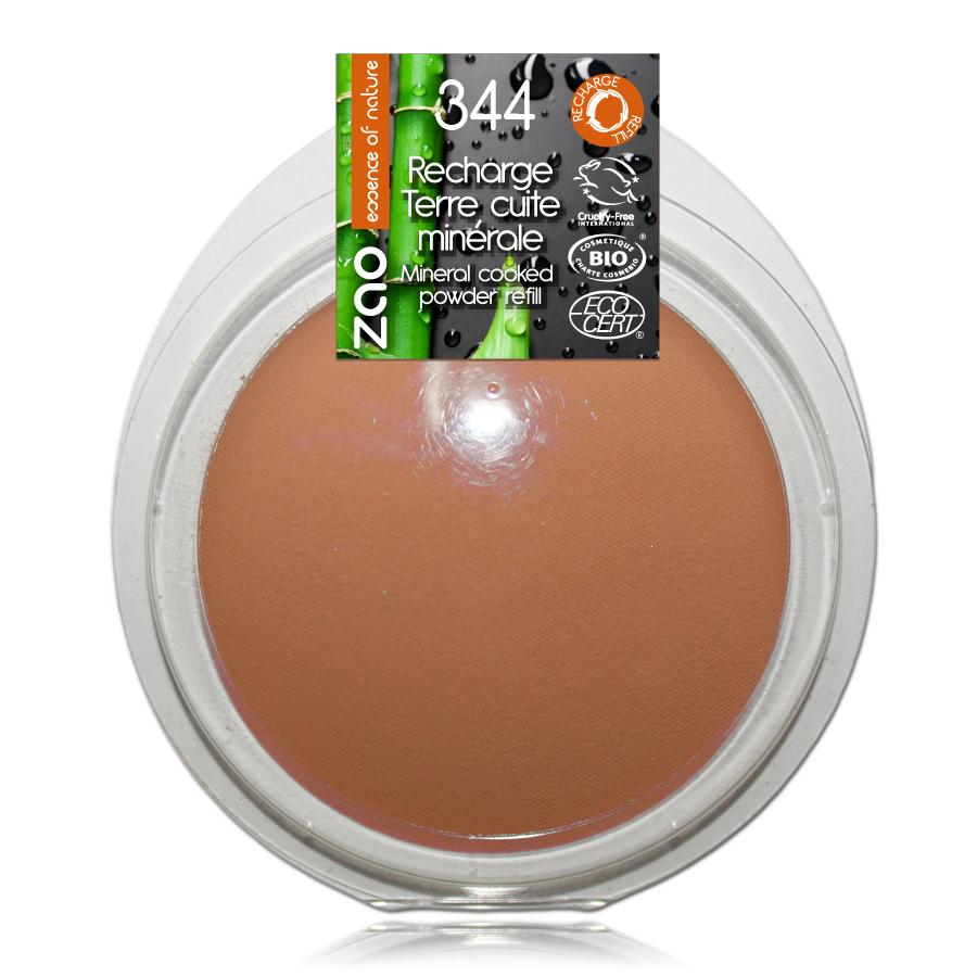 ZAO Minerální bronzer 344 Chocolate 15 g náplň