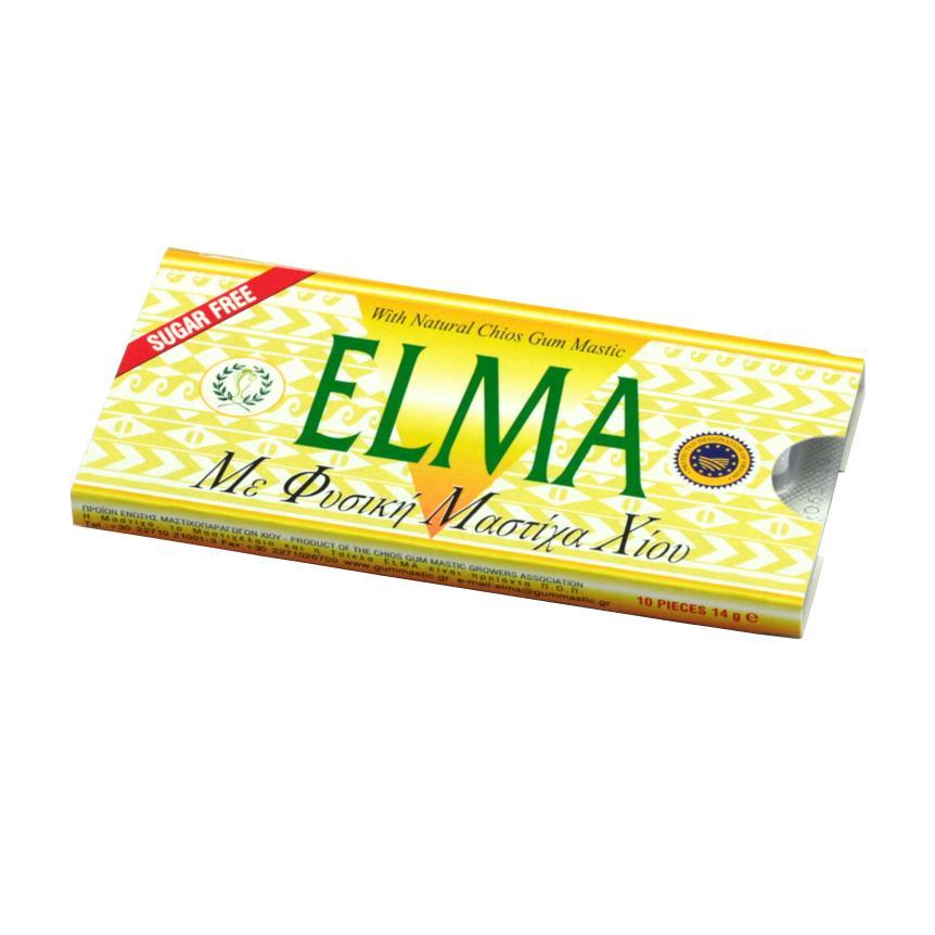 Chios GMGA Žvýkačky s mastichou Elma Sugar Free 14 g, 10 ks