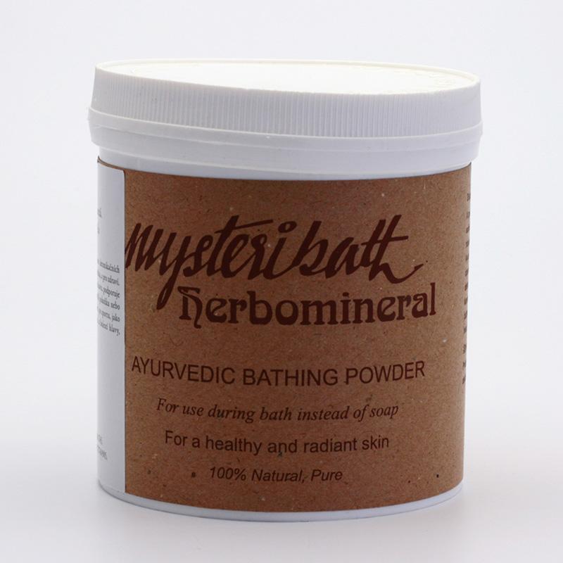 Ayurlabs India Koupelový prášek ayurvédský, Mysteribath 400 g