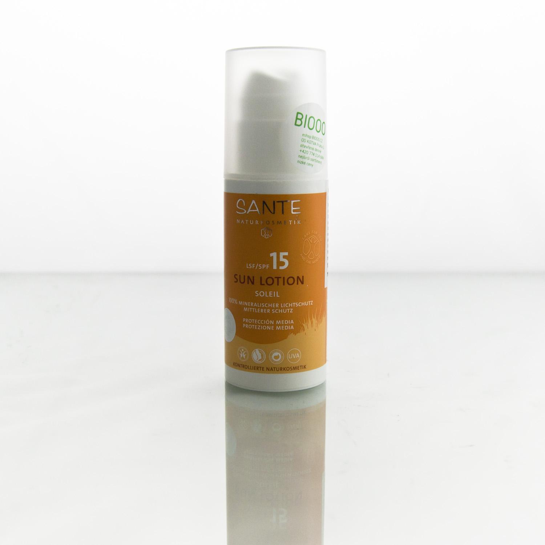 Santé x Opalovací mléko SPF 15 100 ml