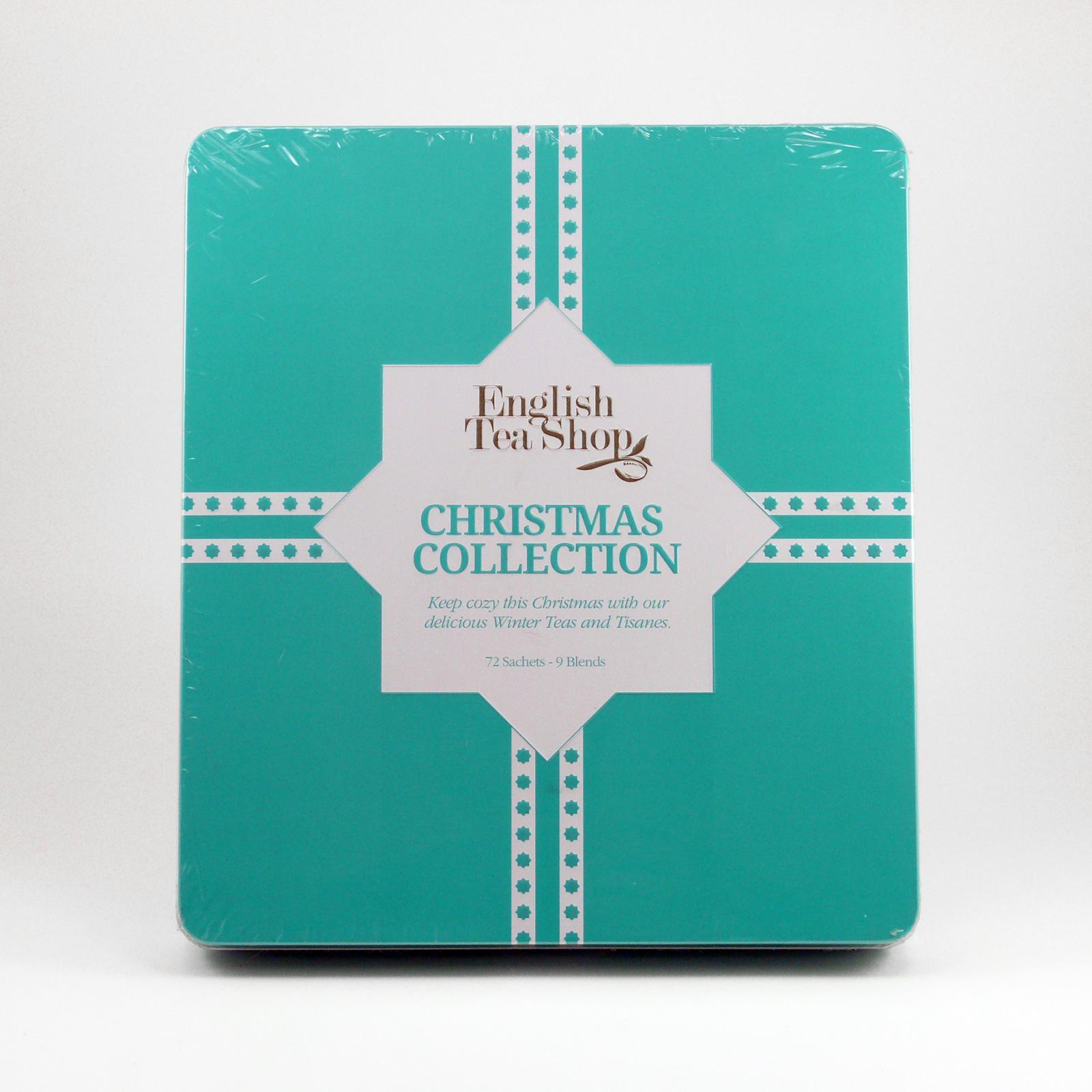 English Tea Shop Modré Vánoce, plechová kazeta 72 ks, 108 g