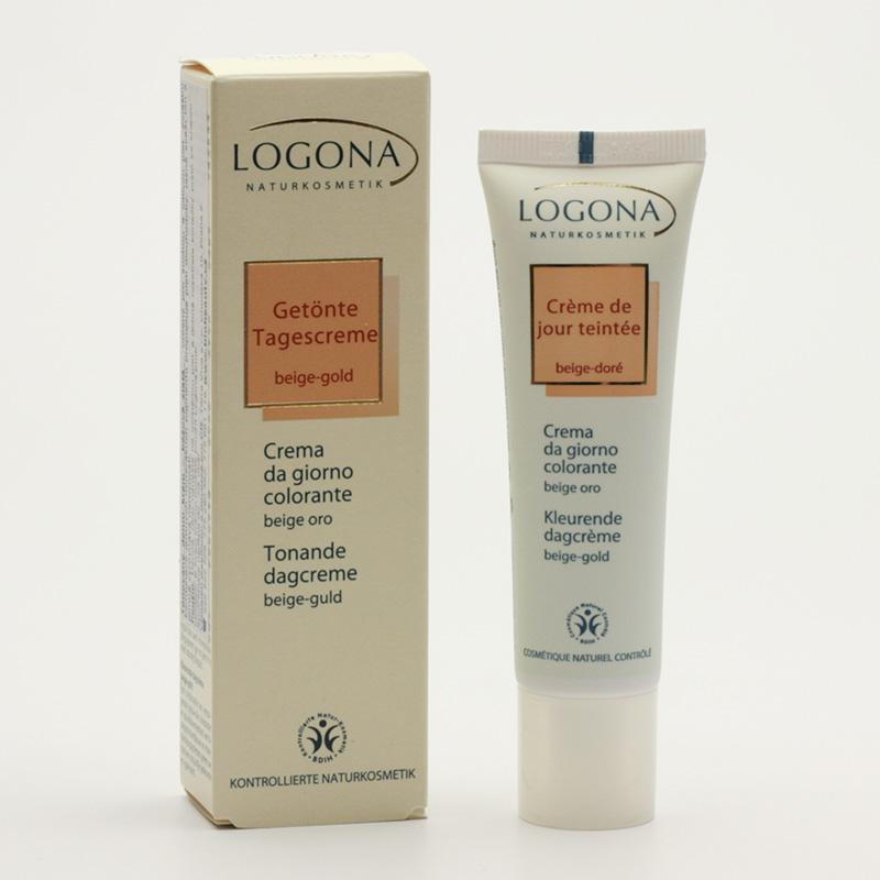 Logona Tónovací denní krém sensitive 01, beige-gold  30 ml