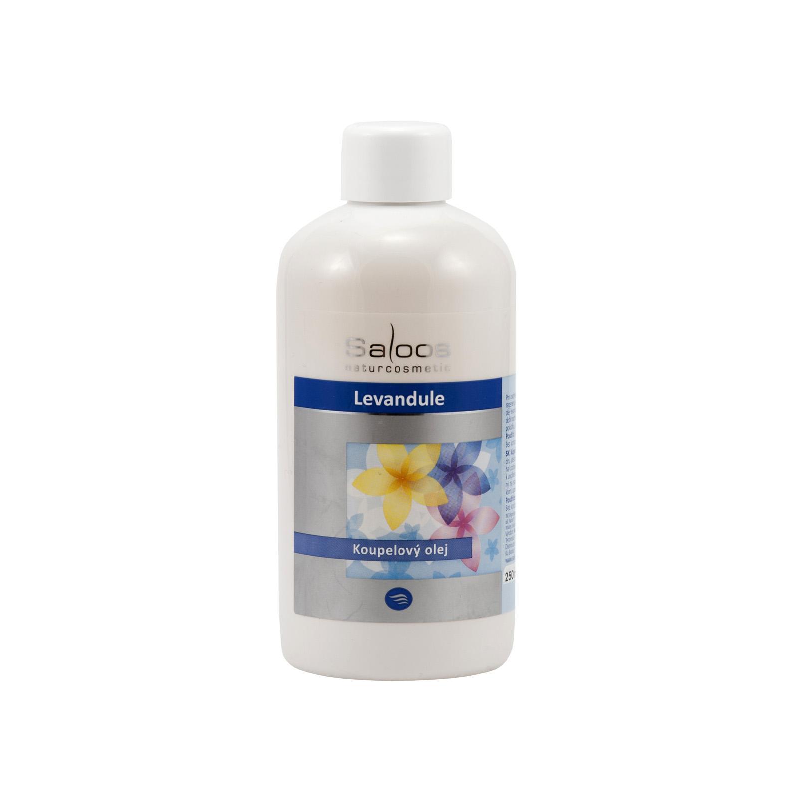 Saloos Koupelový olej levandule 250 ml