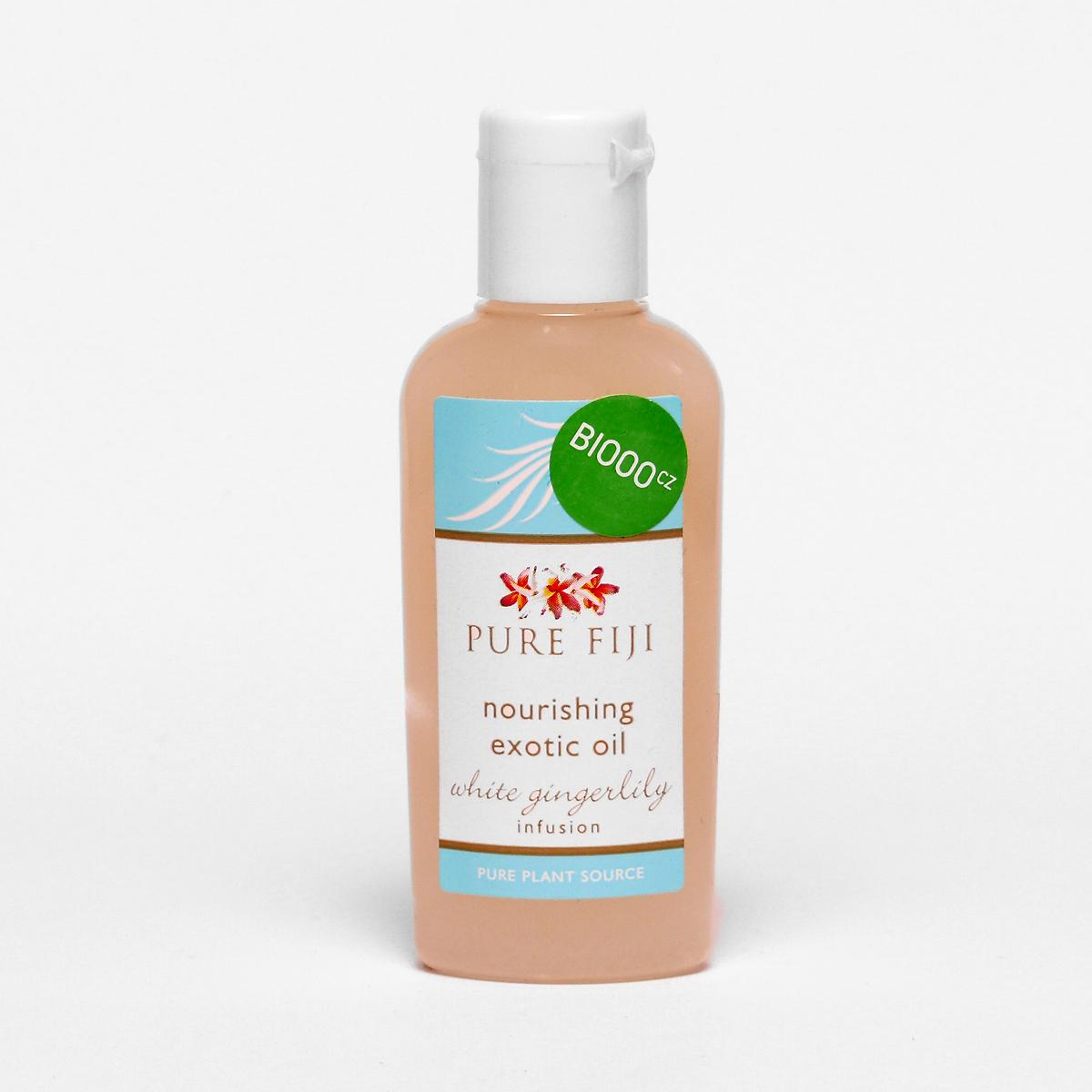 Pure Fiji Exotický masážní a koupelový olej, zázvor 29 ml