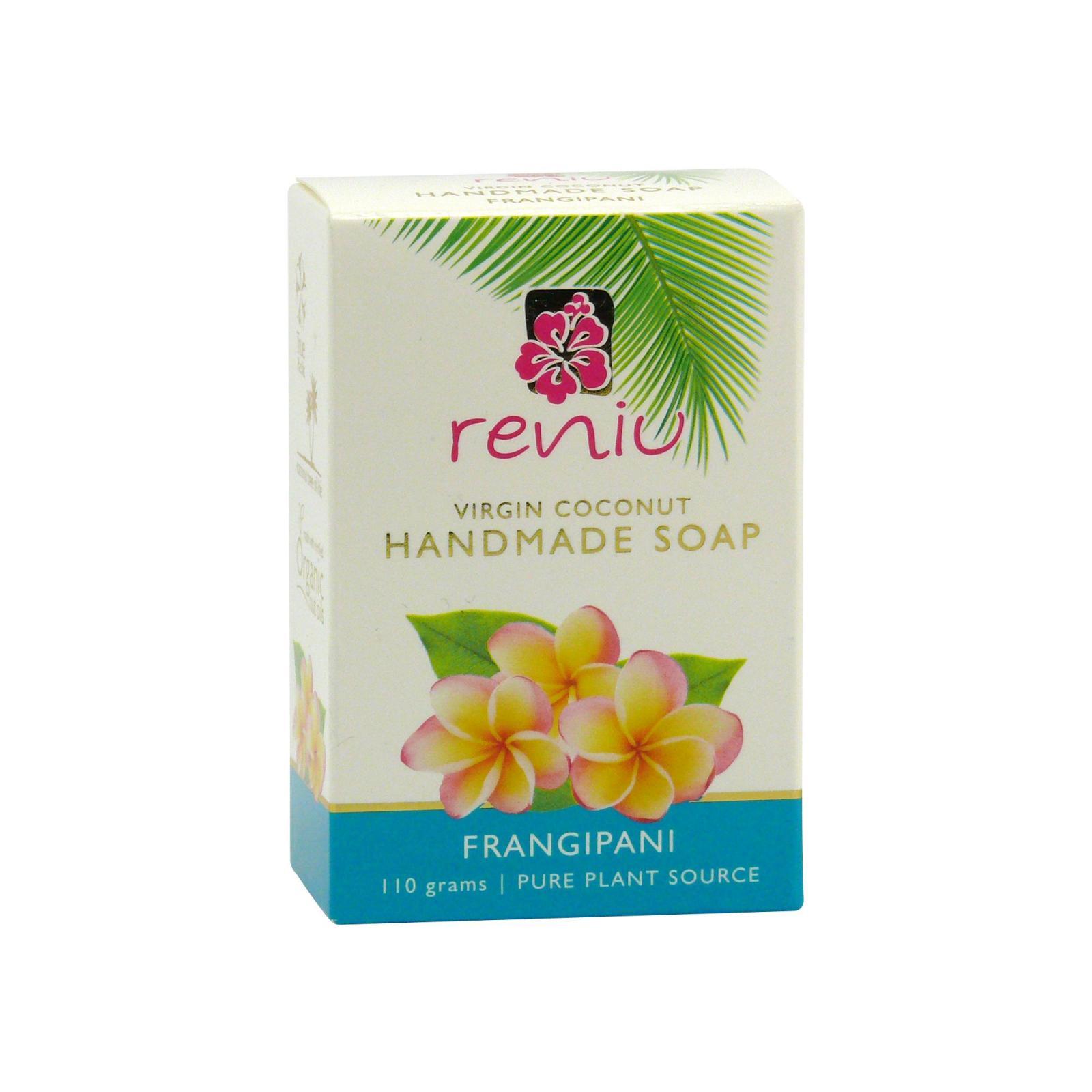 Reniu Fiji Mýdlo z kokosového oleje, plumérie 100 g