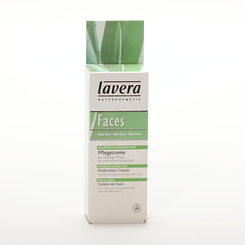 Lavera xxKrém ochranný aloe vera, Faces 30 ml