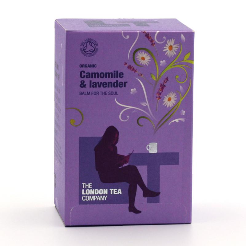 London Tea xxxVýprodej Čaj heřmánek a levandule 20 ks, 20 g