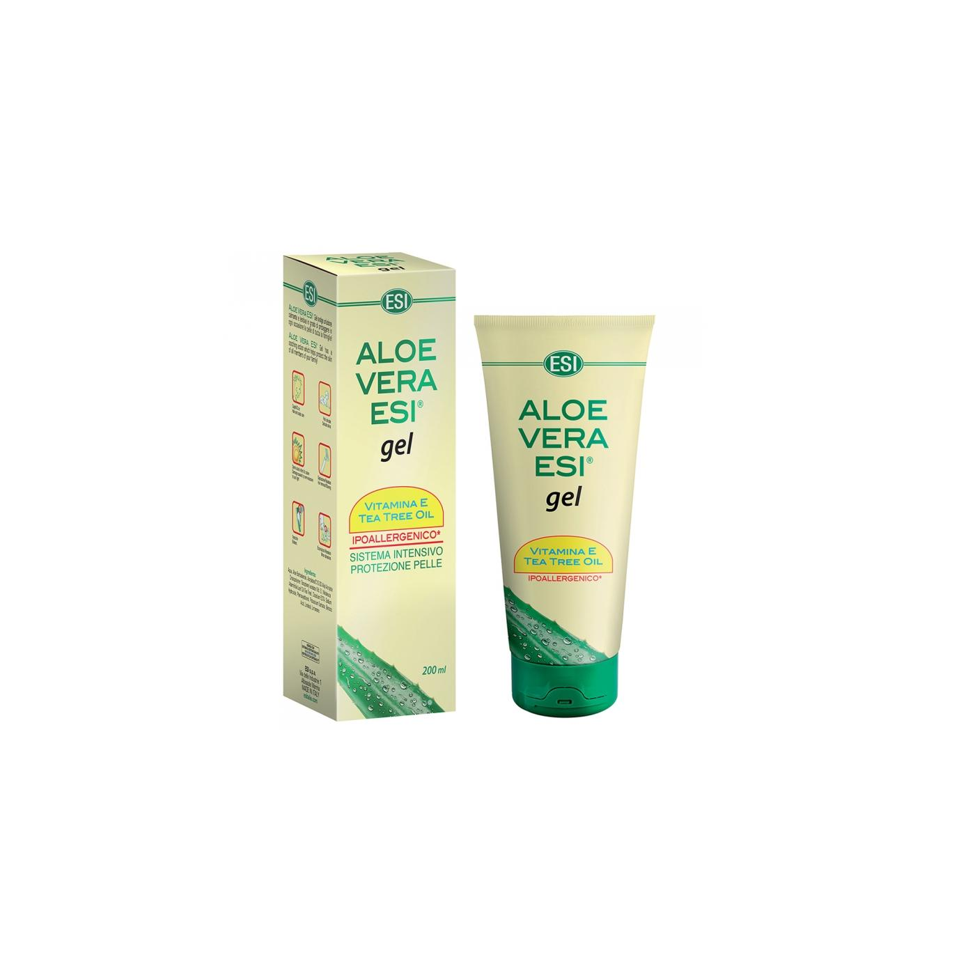 ESI Gel Aloe vera s vitamínem E a tea tree 200 ml