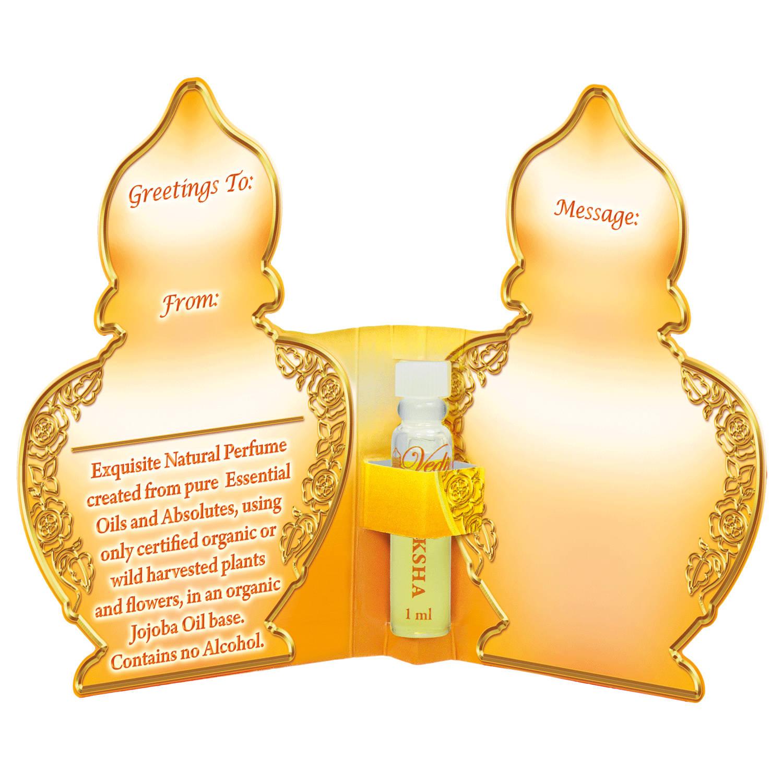 Vedic Aroma Ayurvédský parfém na bázi oleje Moksha 1 ml
