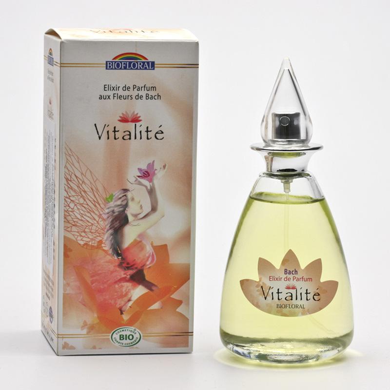 Biofloral Parfémová voda s květy Dr. Bacha vitalita 100 ml