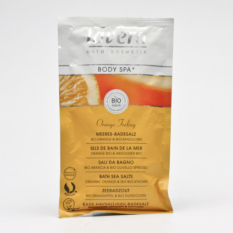 Lavera Koupelová sůl pomeranč a rakytník, Body Spa 80 g