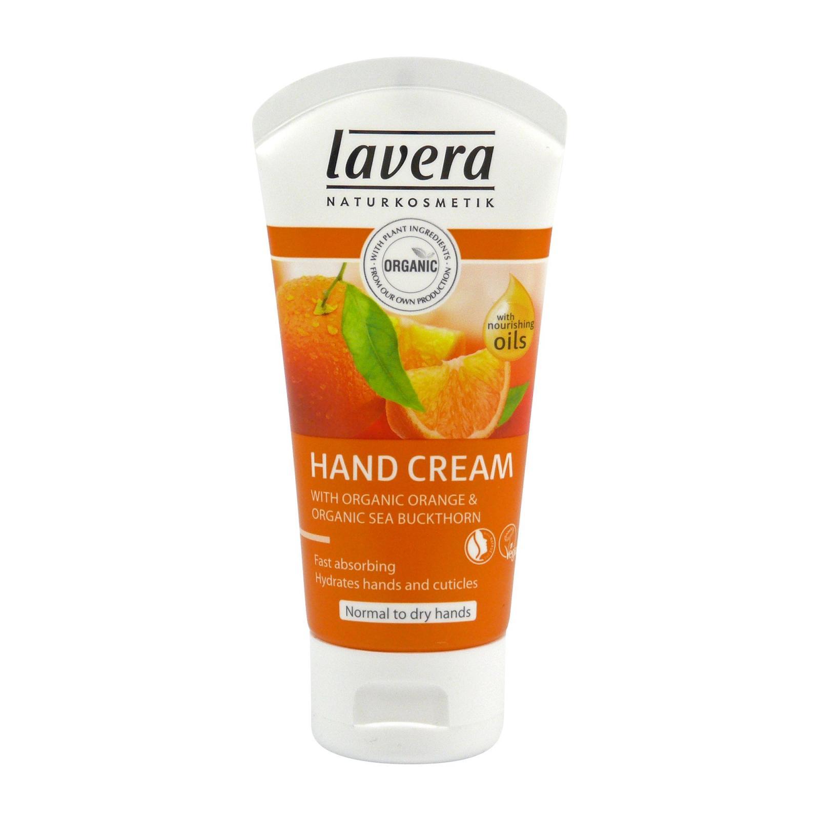 Lavera Krém na ruce pomeranč a rakytník, Body Spa 50 ml