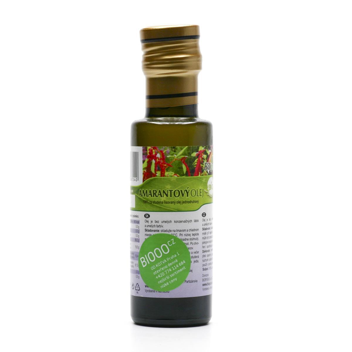 Biopurus Amarantový olej bio 100 ml