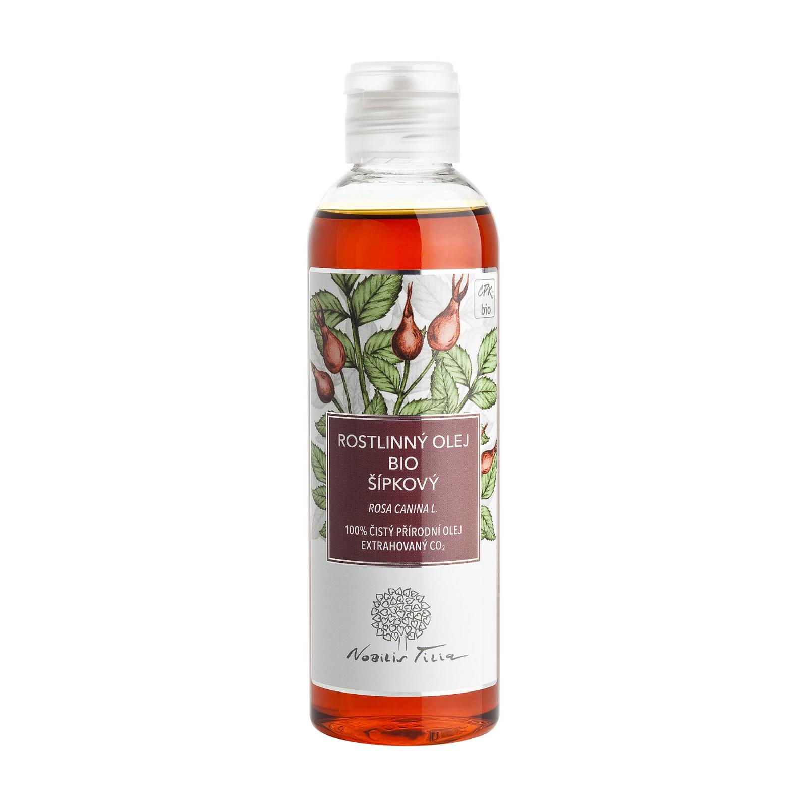 Nobilis Tilia Šípkový olej, bio 200 ml