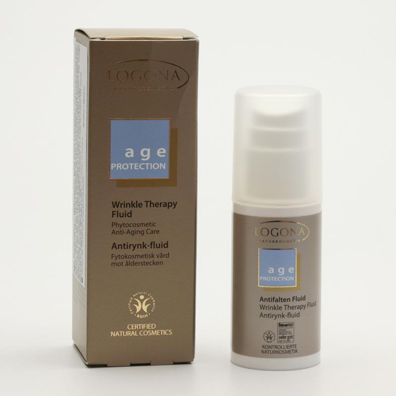 Logona Hydratační fluid proti vráskám, Age Protection - vyřazen 30 ml