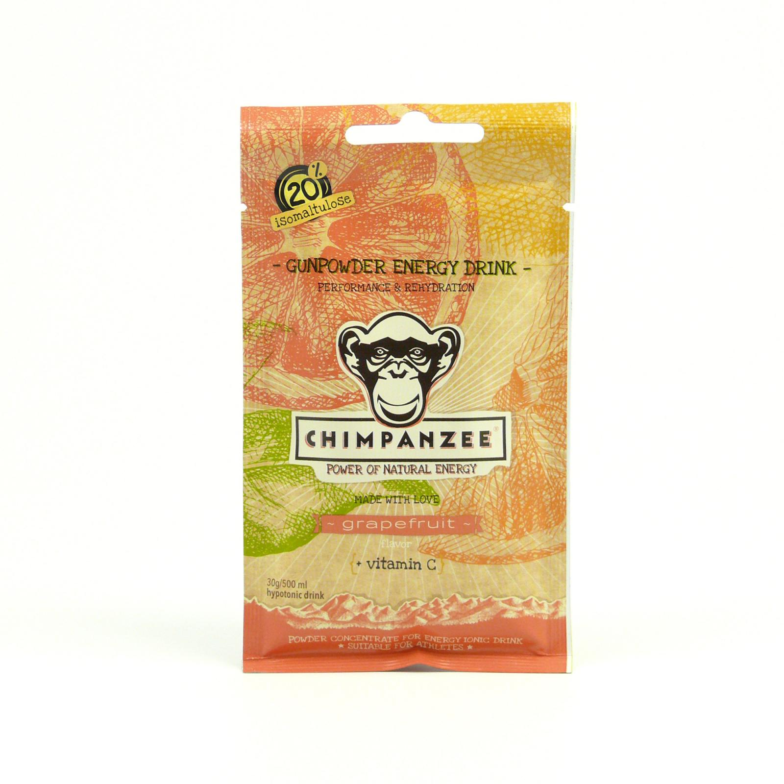 Chimpanzee Energy drink Gunpowder Grapefruit 30 g