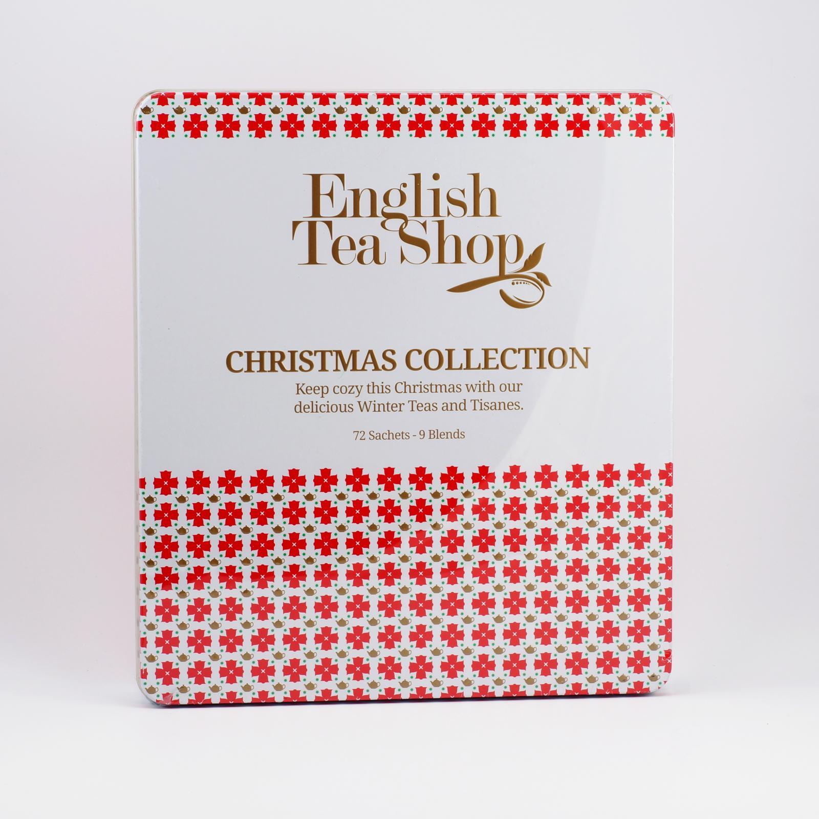 English Tea Shop Bílé Vánoce, plechová kazeta 72 ks, 108 g