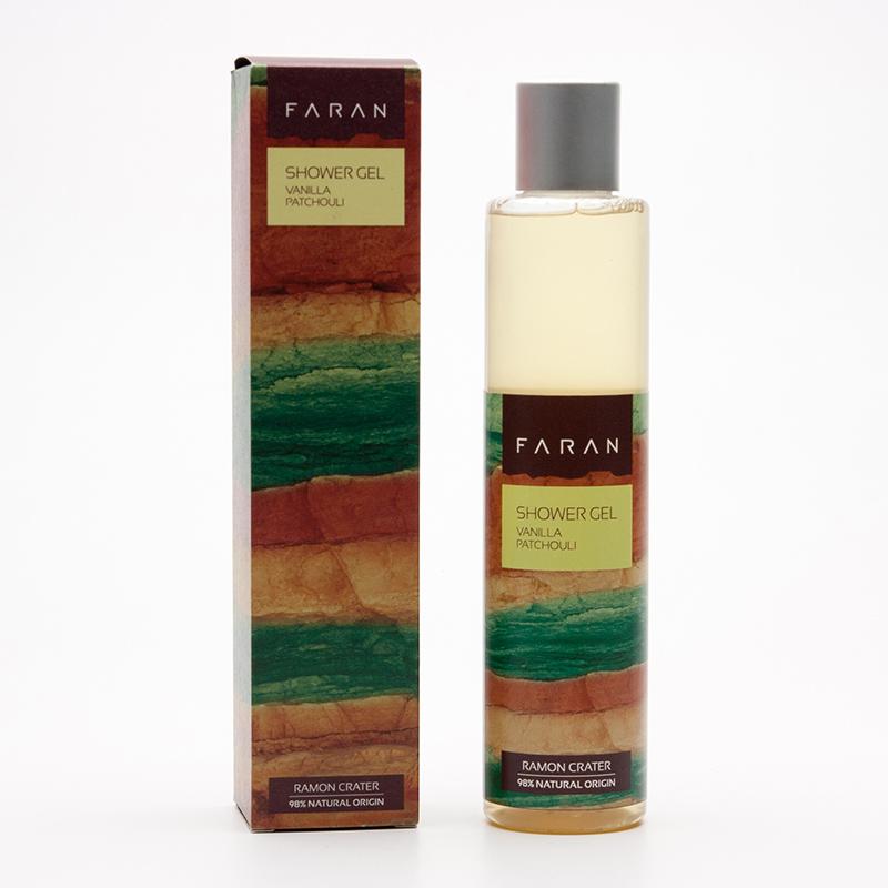 Faran Sprchový gel Vanilla / Patchouli 220 ml