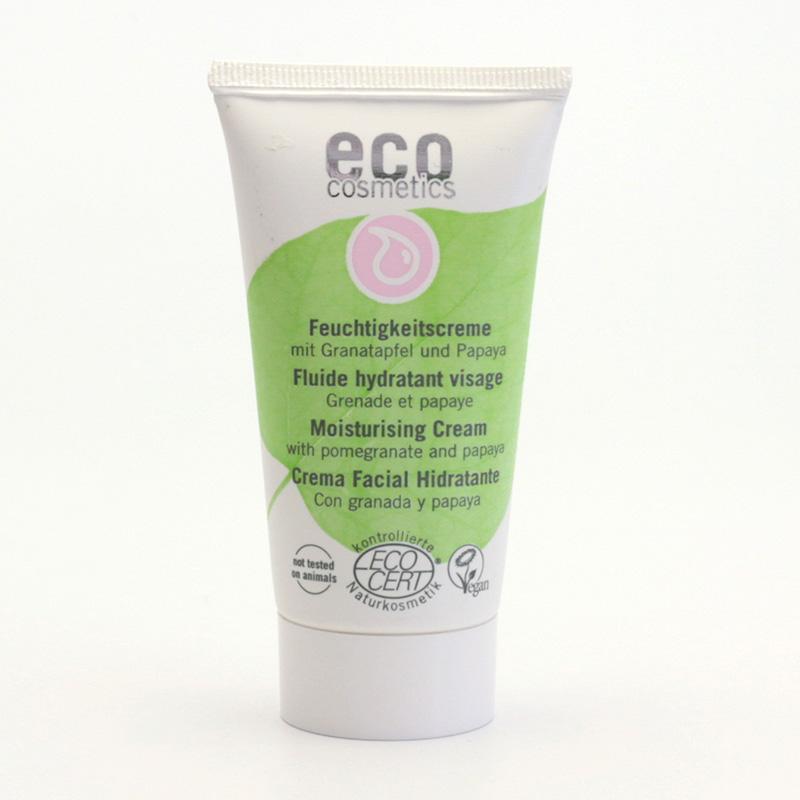 Eco Cosmetics Krém hydratační granátové jablko/papája 50 ml