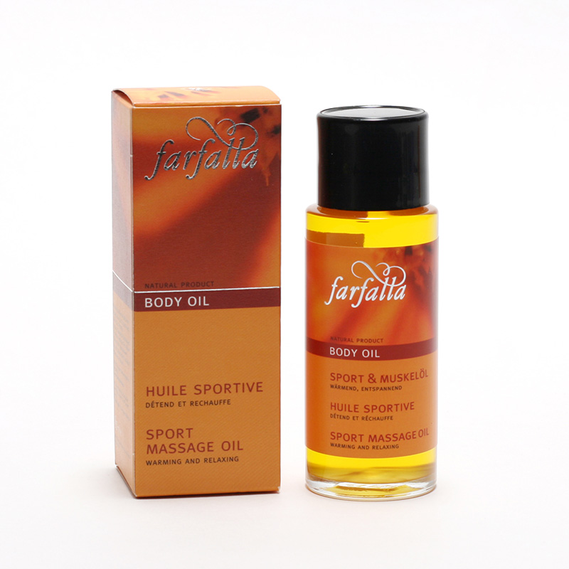 Farfalla Tělový olej Sport 80 ml