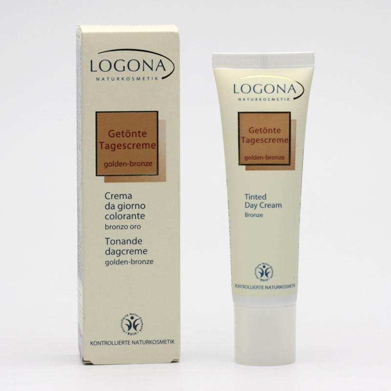 Logona Tónovací denní krém sensitive 02, golden-bronze 30 ml