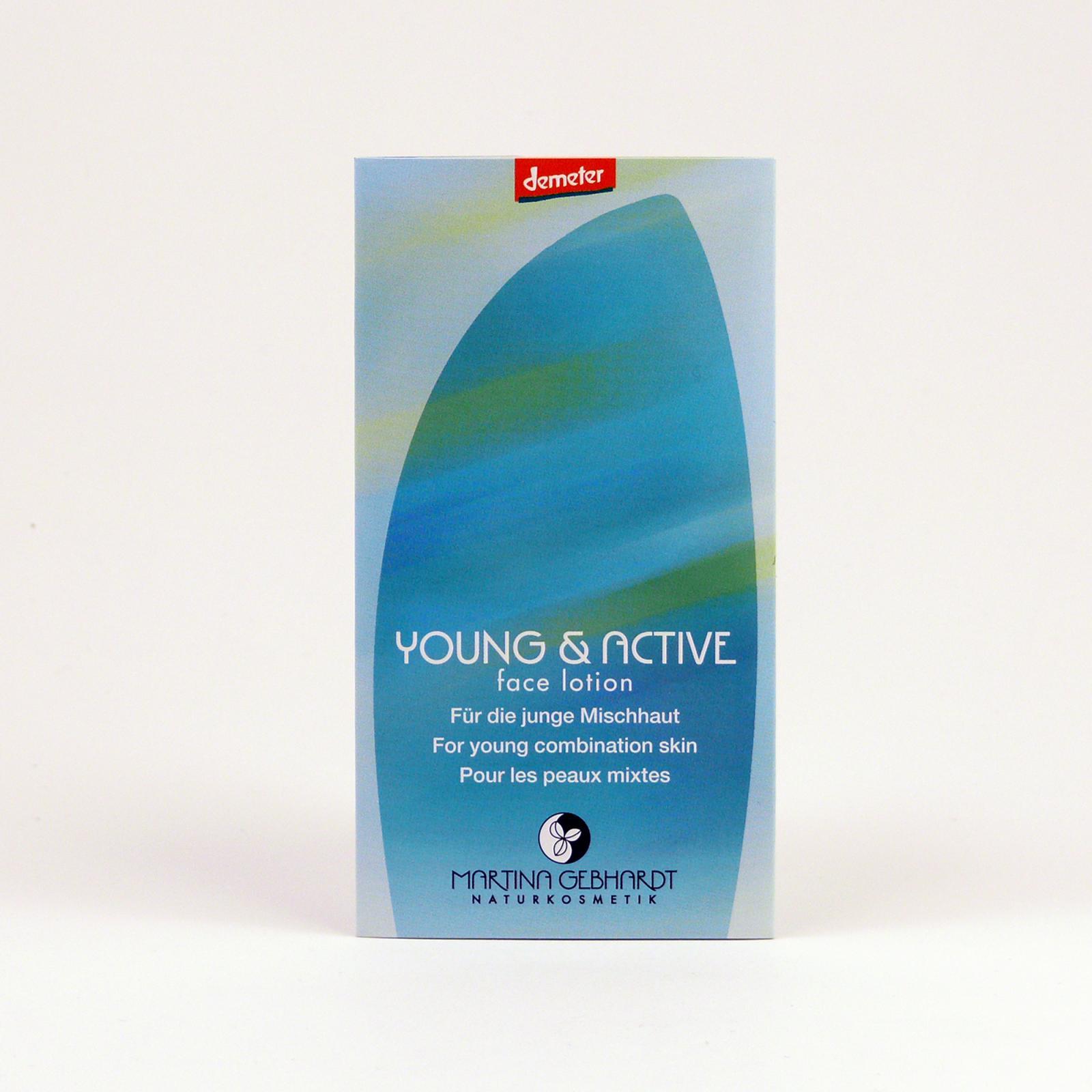 Martina Gebhardt Pleťové mléko, Young & Active 2 ml
