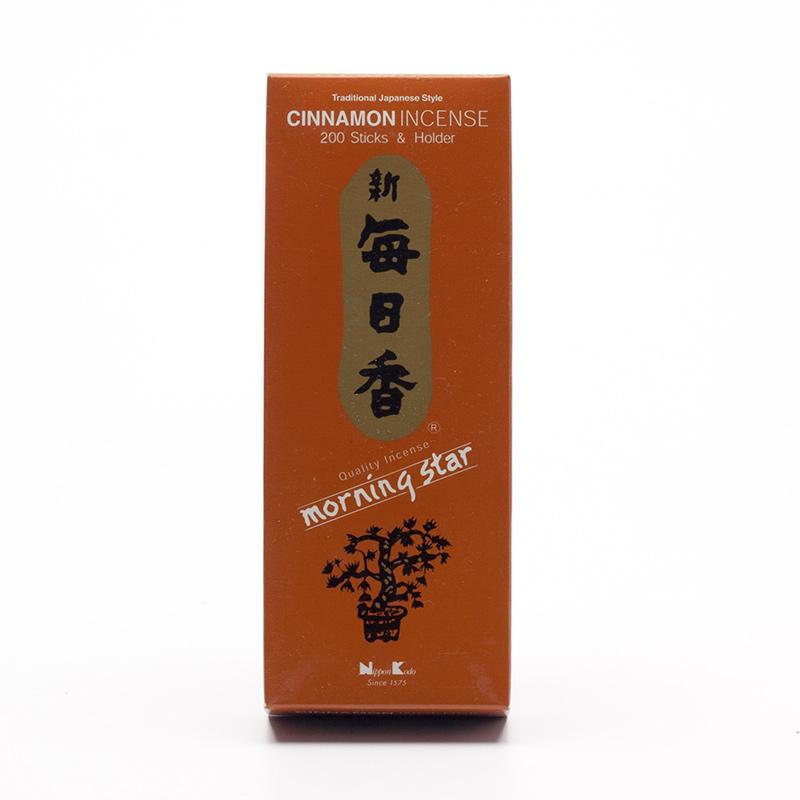 Nippon Kodo Vonné tyčinky japonské Morning Star Cinnamon 200 ks
