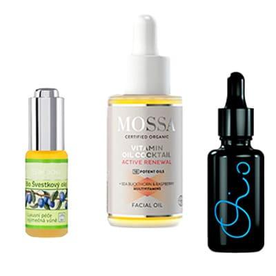 Tělové a masážní oleje