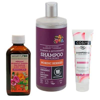 Šampony na poškozené vlasy