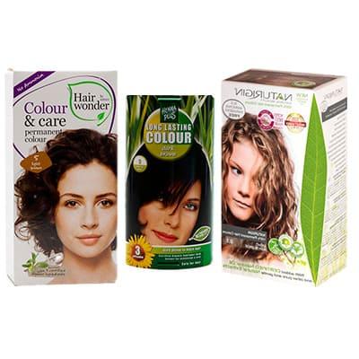 Permanentní barvy na vlasy