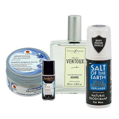 Pánské parfémy a deodoranty