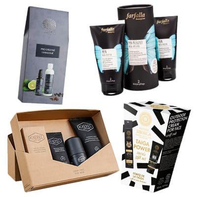Kosmetické dárkové sady pro muže