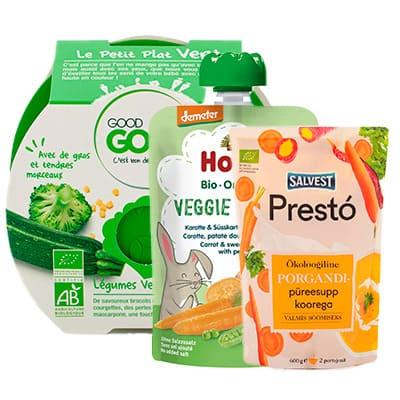 Zeleninové příkrmy