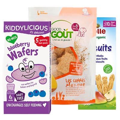Sušenky pro děti a dětské piškoty