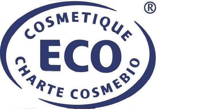 Přírodní certifikát COSMETIQUE BIO - CHARTE COSMEBIO