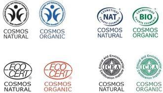 Přírodní certifikát Cosmos