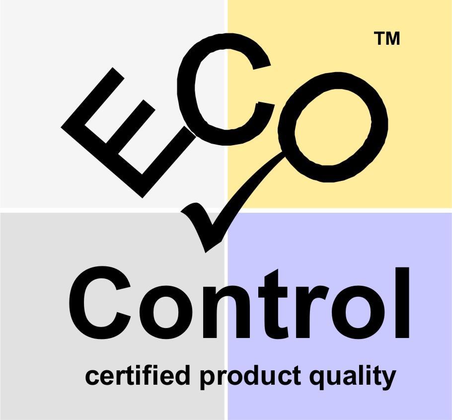 Přírodní certifikát ECO CONTROL