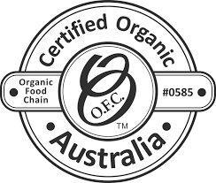 Přírodní certifikát Organic Food Chain Australia