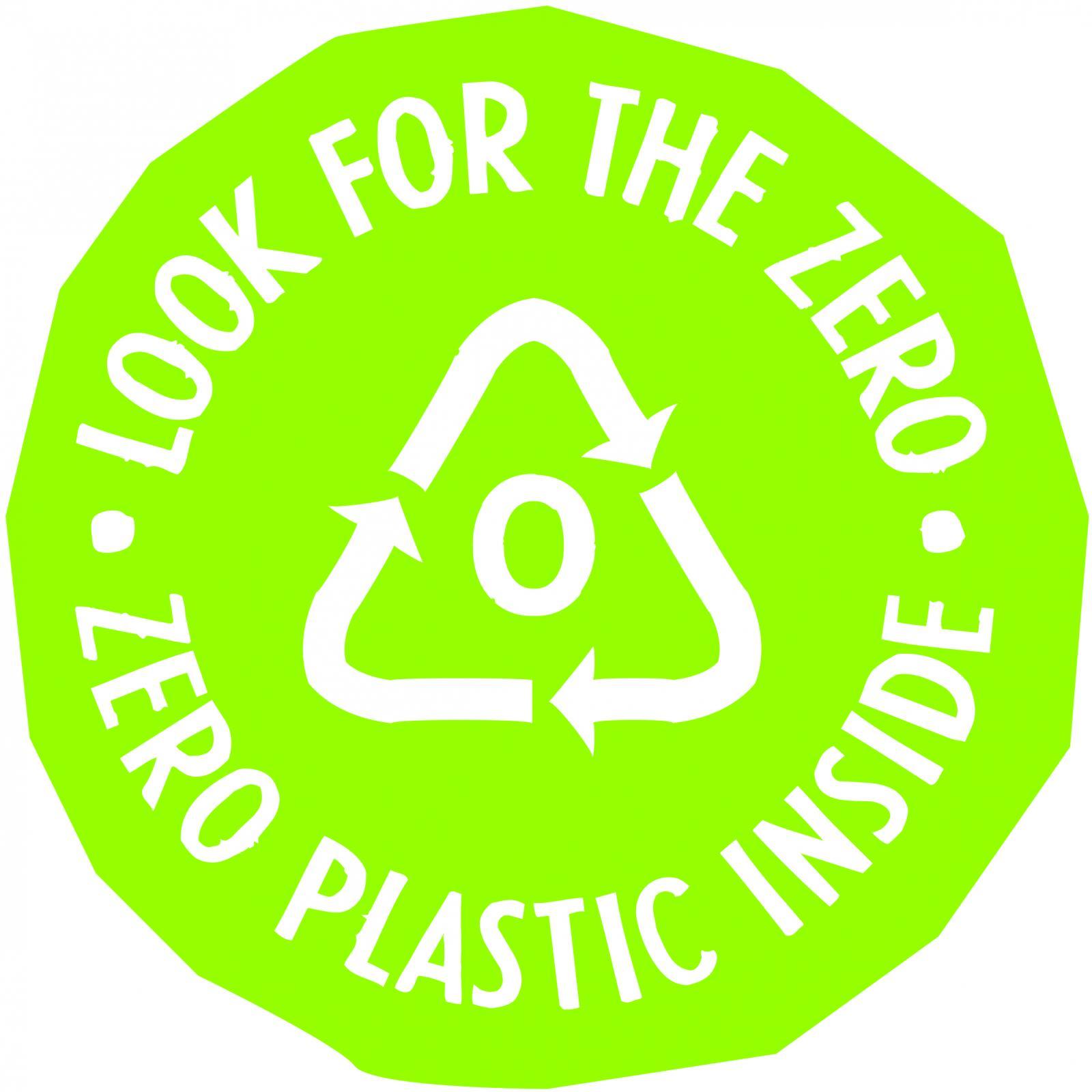 Přírodní certifikát Zero Plastic Inside