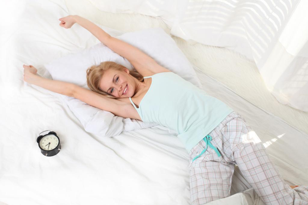 3 malá tajemství pro spánek do krásy