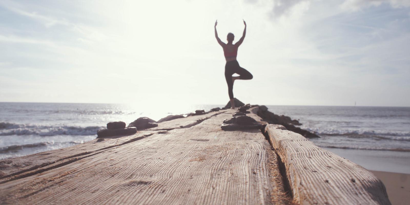 1. Cvičte pro silnou mysl, zdravé plíce a mladé tělo