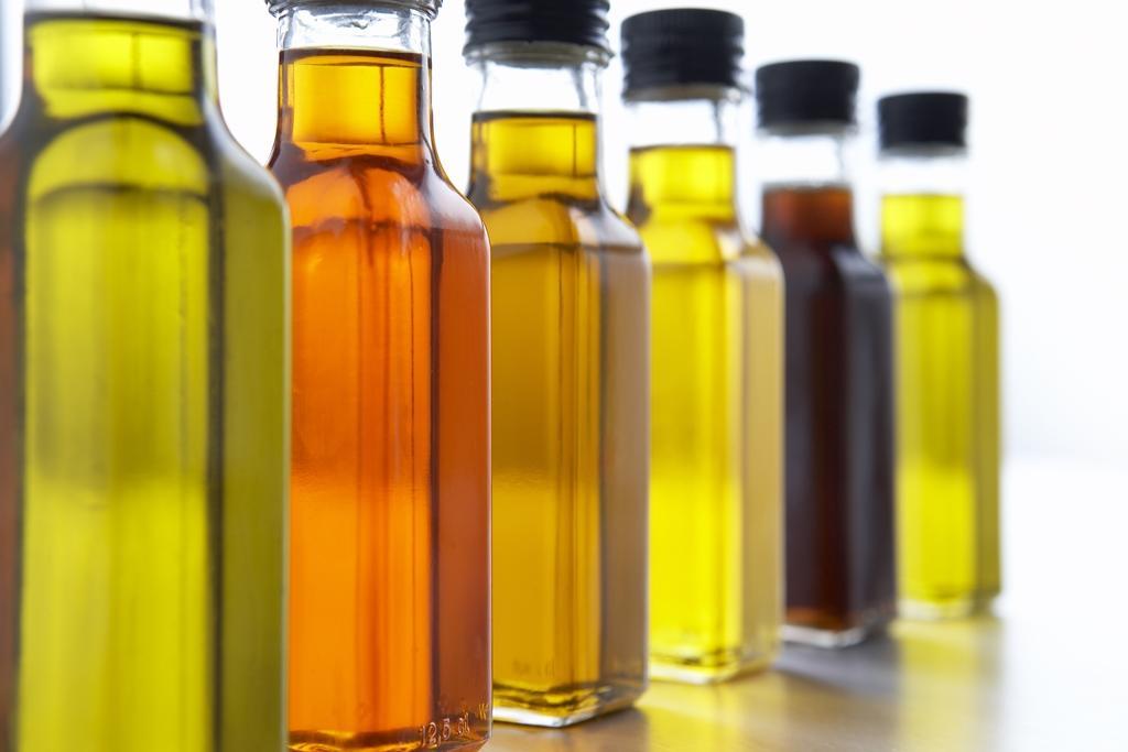 Lahvičky s olejem