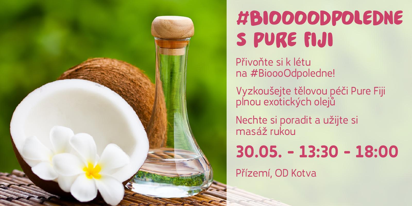 Biooo odpoledne s Pure Fiji