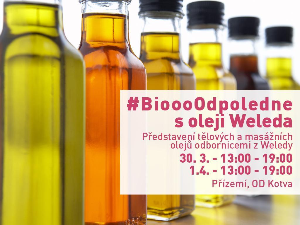 Biooo odpoledne s tělovými oleji Weleda