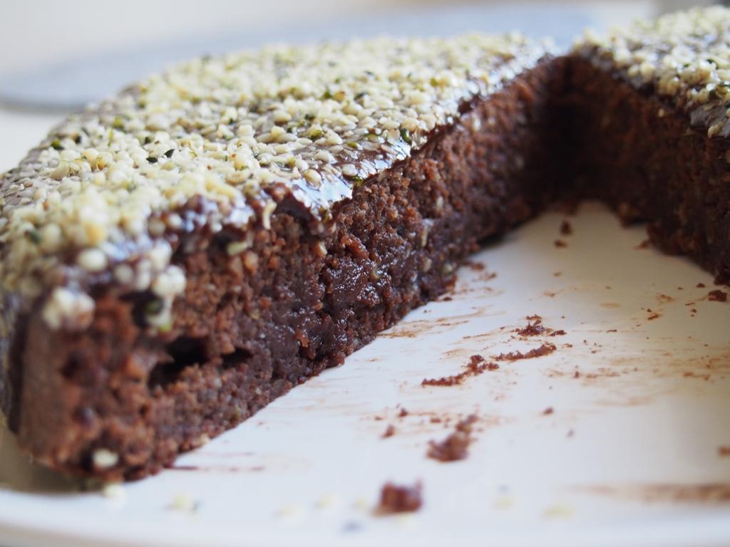Brownies s konopnými semínky