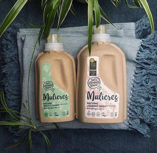 Univerzální čistič Natural a koncentrovaný prací gel od Mulieres
