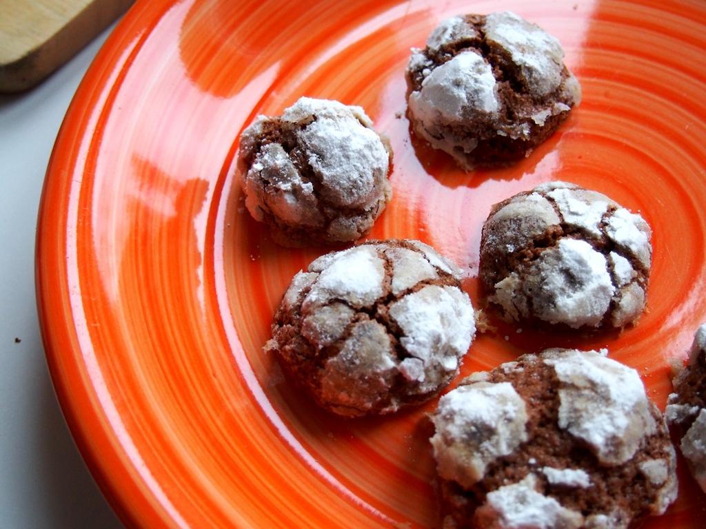 Čokoládové bochánky s cukrovou krustou